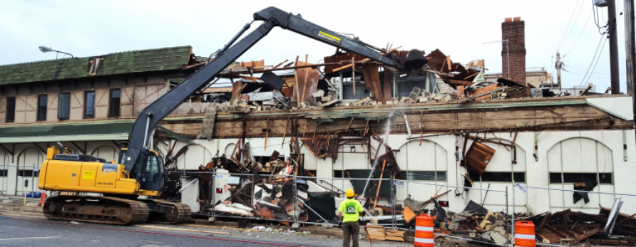 Demolition of a Highlandtown Landmark