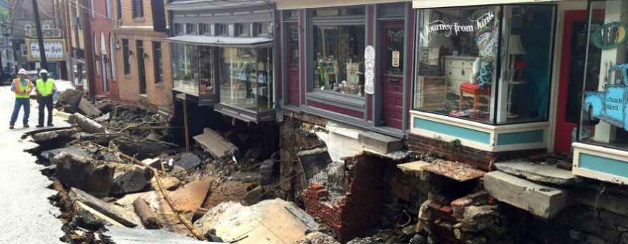 Ellicott City Flood Destroys Town